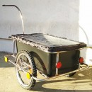 Велоприцеп, велотележка (из нержавеющей стали)